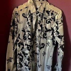 VERSACE collared shirt